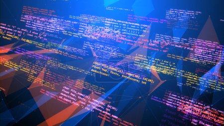 Coding Program Lines Placed Askew