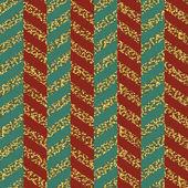 seamless pattern of Christmas ribbons vector illustration