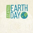 Постер, плакат: Earth day poster
