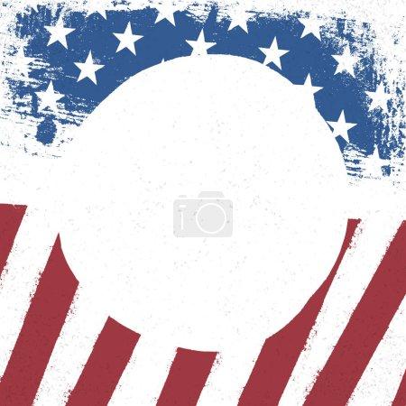 US patriotic design template