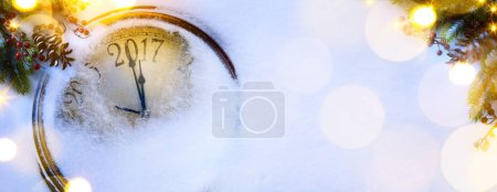 Photo for Art Christmas and happy new years eve background; 201 - Royalty Free Image