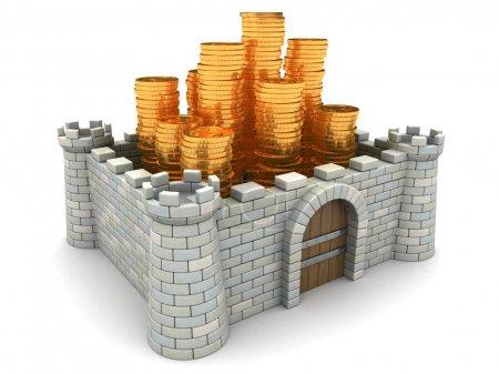 Fortress walls model
