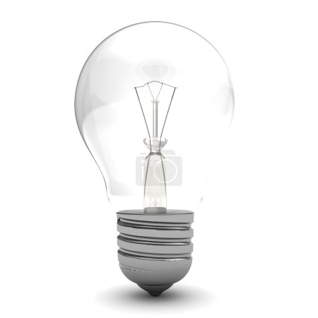 one generic lightbulb