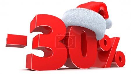 Christmas sale 30 percent