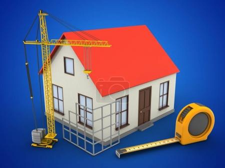 illustration of generic house