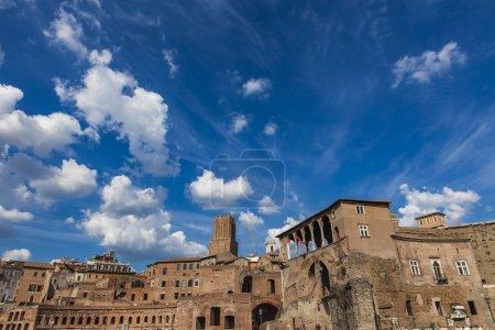 Part of Trajan market in Rome