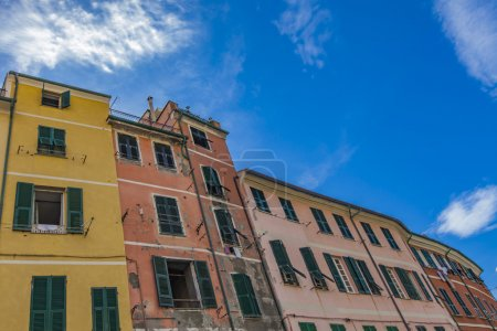 Colorful houses at Vernazza