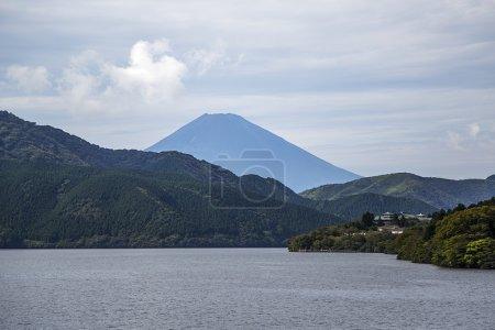 Hakone in lake Ashi