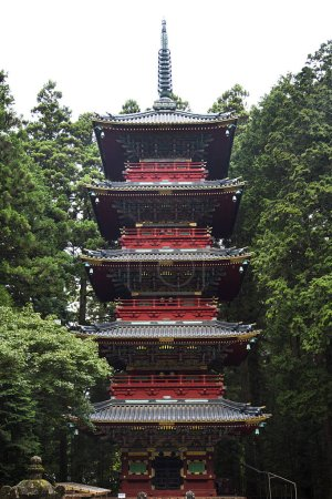 Gojunoto pagoda in Nikko, Japan