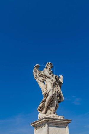 Angel statue at Sant Angelo Bridge