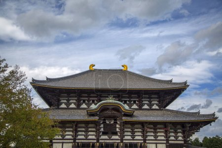 Todai ji temple at Nara