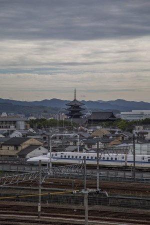 Railway view in Kyoto