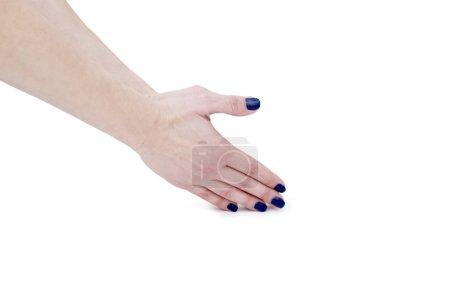 Female Yoga hand