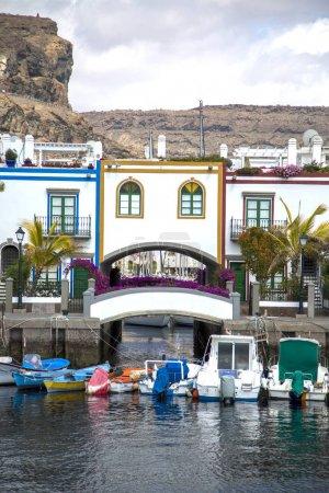 Puerto de Mogan at Gran Canaria