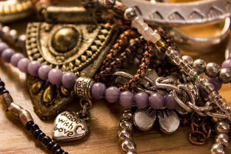 Vintage jewellery and beads