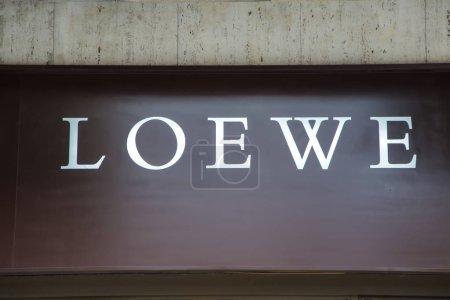 Loewe store showcase