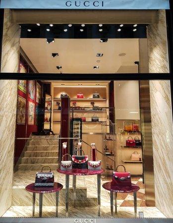Gucci store entrance