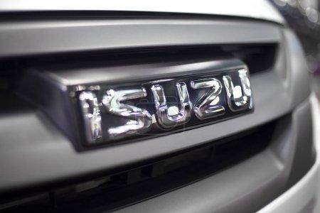 Isuzu car sign