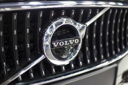 Volvo car sign