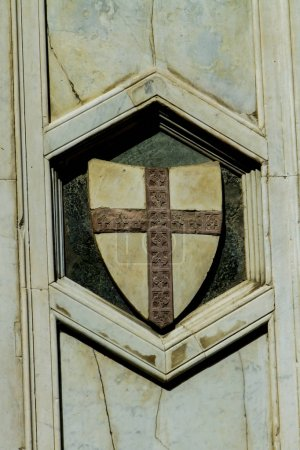 Detail from Santa Maria del Fiore cathedral in Florence