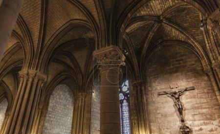 Detail from Cathedrale Notre Dame de Paris