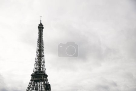 View at Eiffel tower in