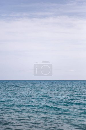 Photo for View at blue sea horizon on a sunny day - Royalty Free Image