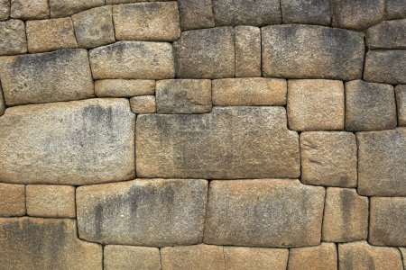Photo for Closeup detail of the old stone wall - Royalty Free Image