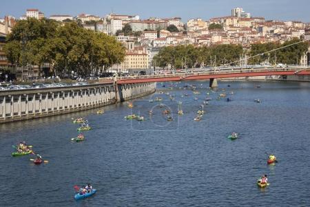 Lyon kayak contest 2017