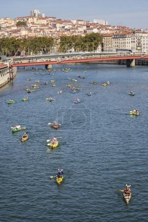 The Lyon kayak contest 2017