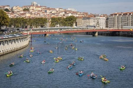 Lyon Kayak contest 2017