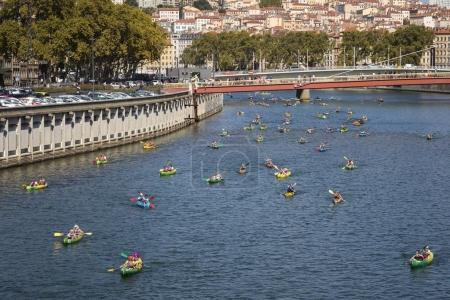 The Lyon kayak contest