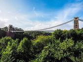 """Постер, картина, фотообои """"HDR Клифтонский подвесной мост в Бристоле"""""""
