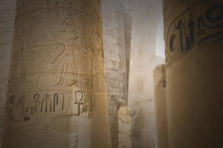 Photo for Ancient ruins of Karnak temple in Luxor. Egypt - Royalty Free Image