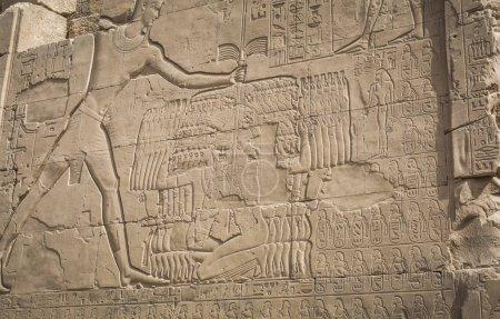 Foto de Ruinas del templo de Karnak en Luxor. Egipto - Imagen libre de derechos