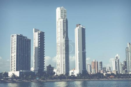 Photo for Panoramic view of Panama City Skyline - Panama City, Panama - Royalty Free Image