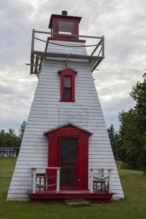 Cardigan River Lighthouse on Prince Edward Island. Prince Edward Island, Canada.