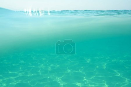 Photo of clean sea wave