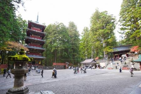 Nikko Toshogu Shrine temple Tokyo,Japan - November 21,2016