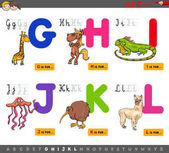 educational cartoon alphabet for children