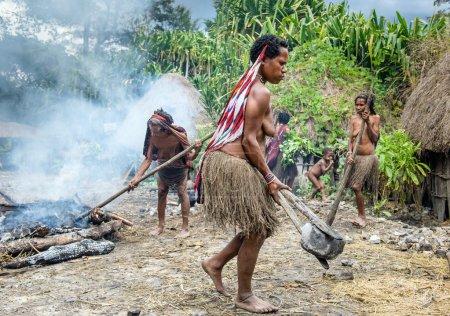 Dugum Dani tribe people
