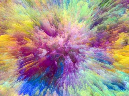Paint Explosion background