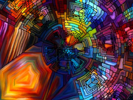 Illusions of Stained Glass