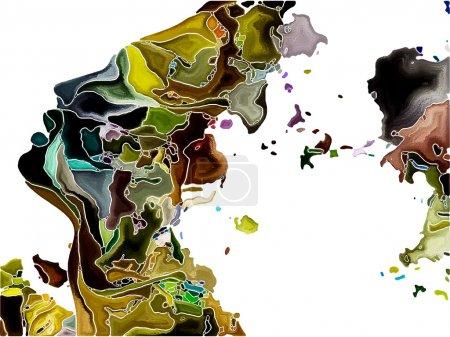 Colorful Self Fragmentation
