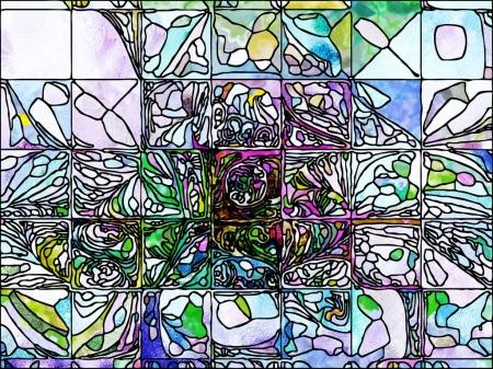 Painted Leaded Glass