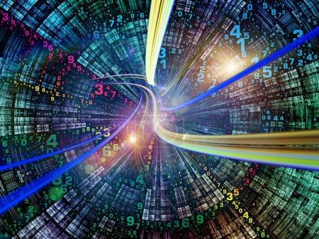 Virtual Life of Digital World