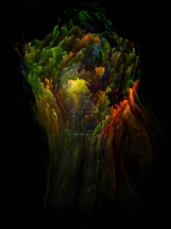 Lights of Fractal Brush