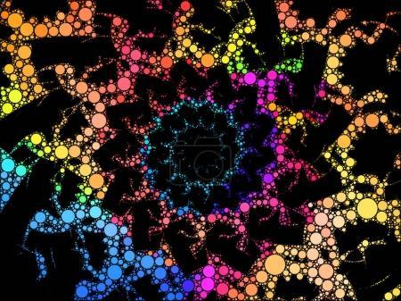 Spiral Fractal pattern