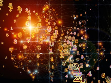 Unfolding of Digital Information