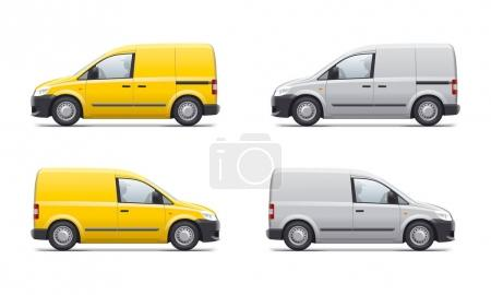 Commercial transport illustration